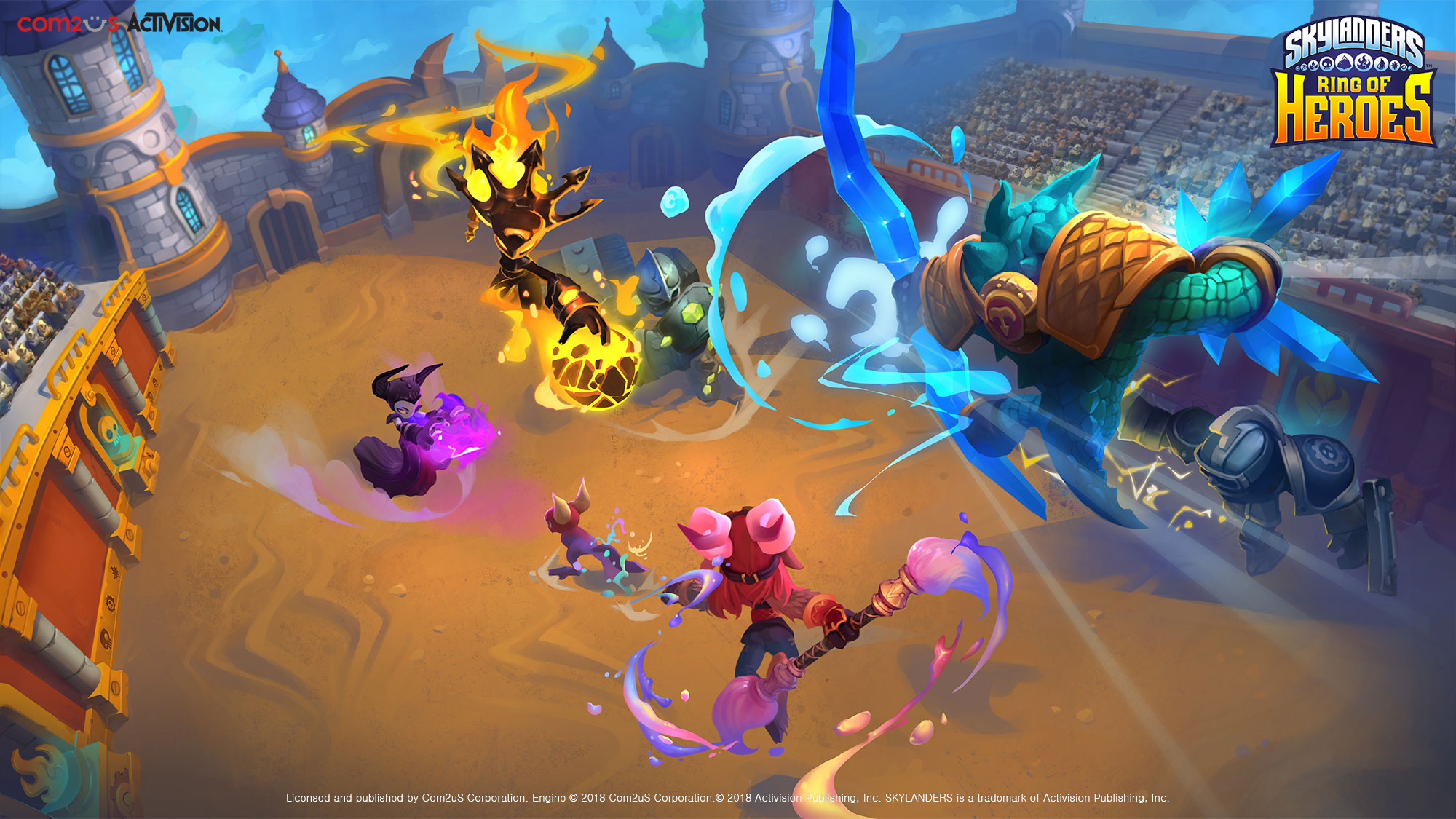 Back and Ready to Battle: Skylanders™ Ring of Heroes Launches