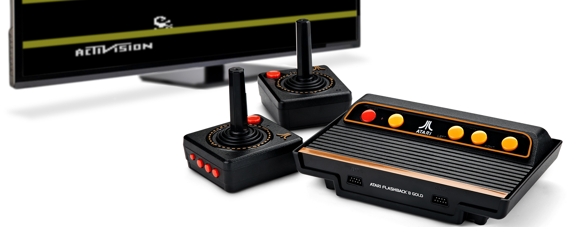 Go Retro With The Atari Flashback 8 Gold Activision Edition
