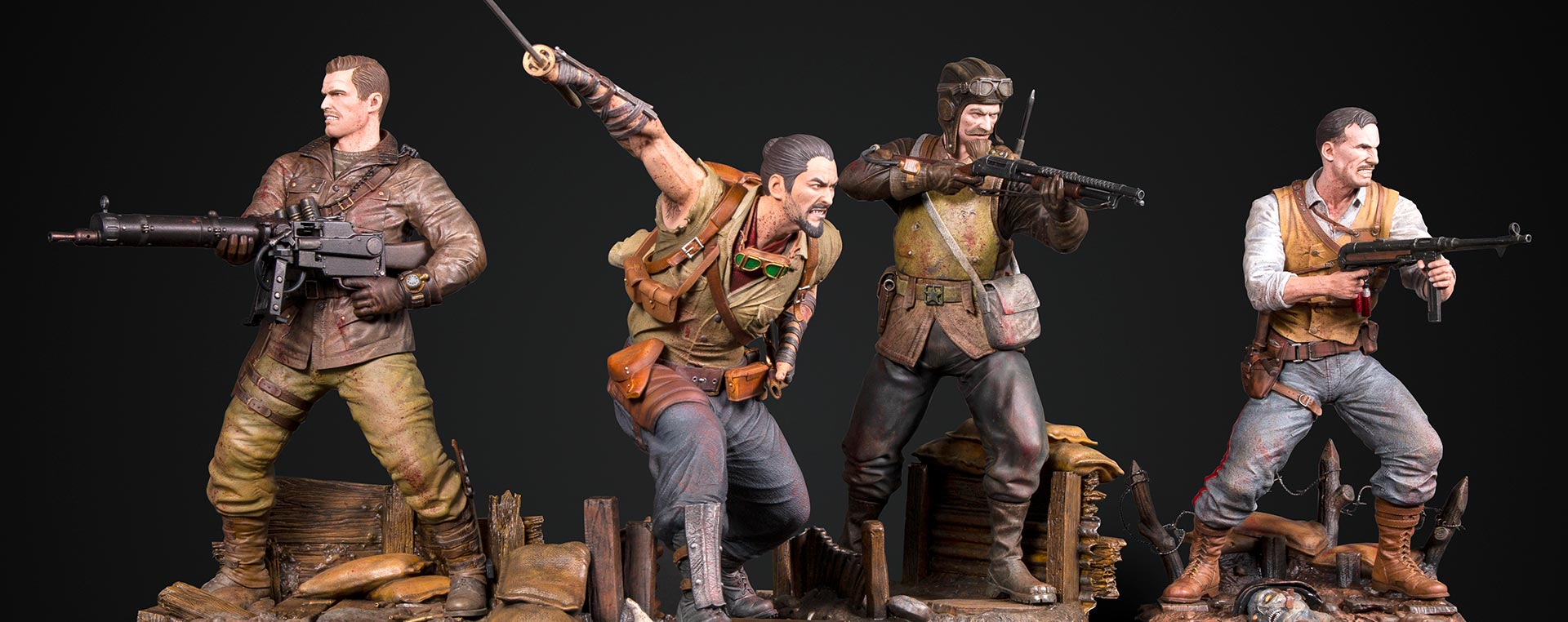 Call Of Duty Black Ops Origins Statue Series Announced