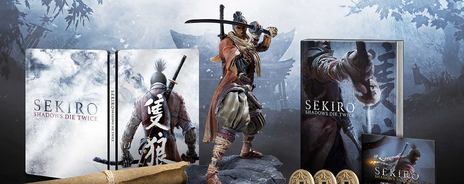 activision sekiro steelbook  Sekiro: Shadows Die Twice Launching on March 22, 2019!