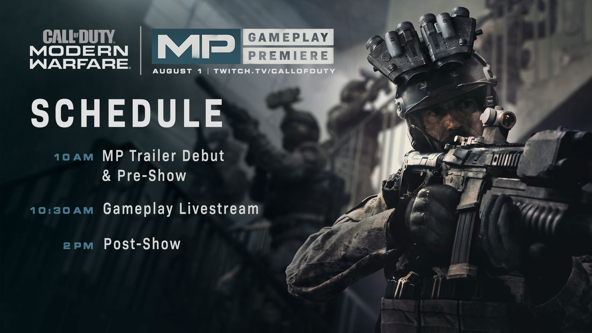 Call Of Duty Modern Warfare Multiplayer Premiere Event Let The