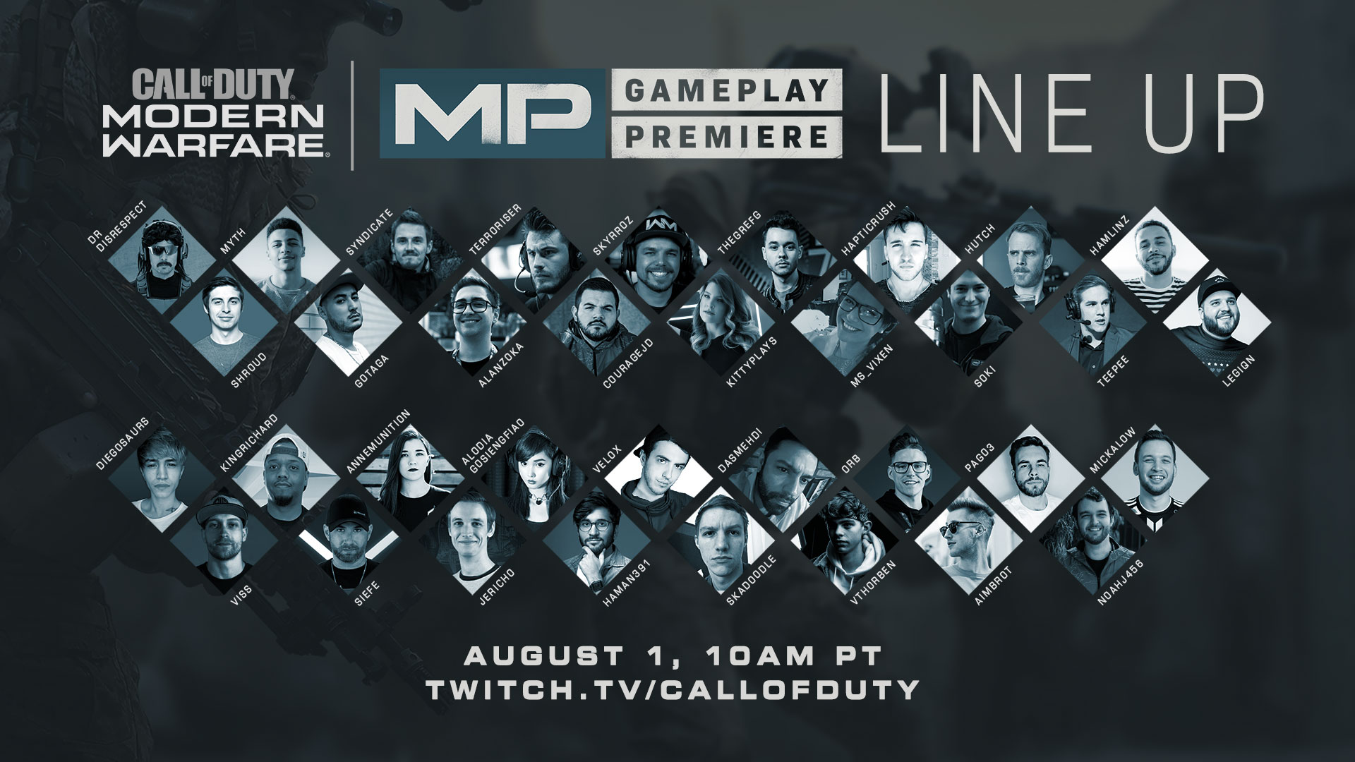Call of Duty®: Modern Warfare® Multiplayer Premiere Reveal is Here!