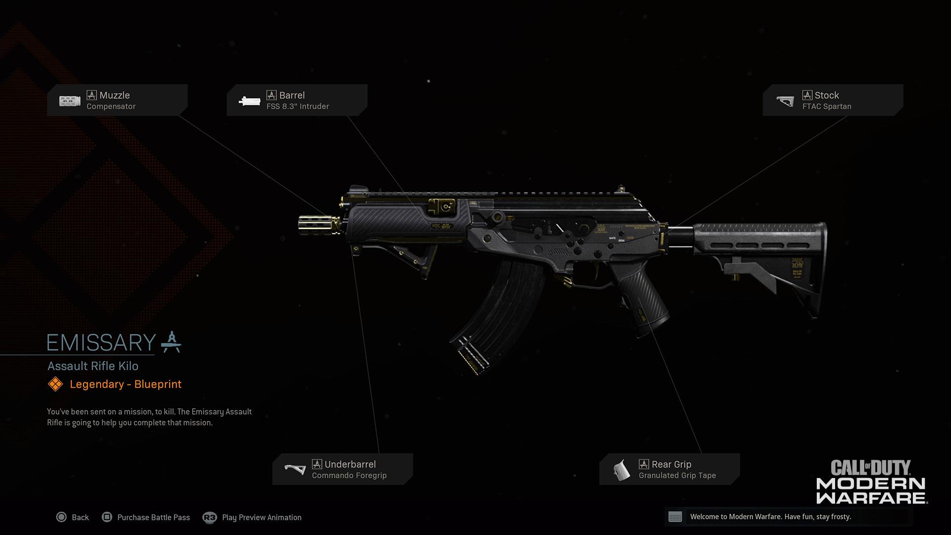 Modern Warfare® Weapon Detail: CR-56 AMAX - Image 5