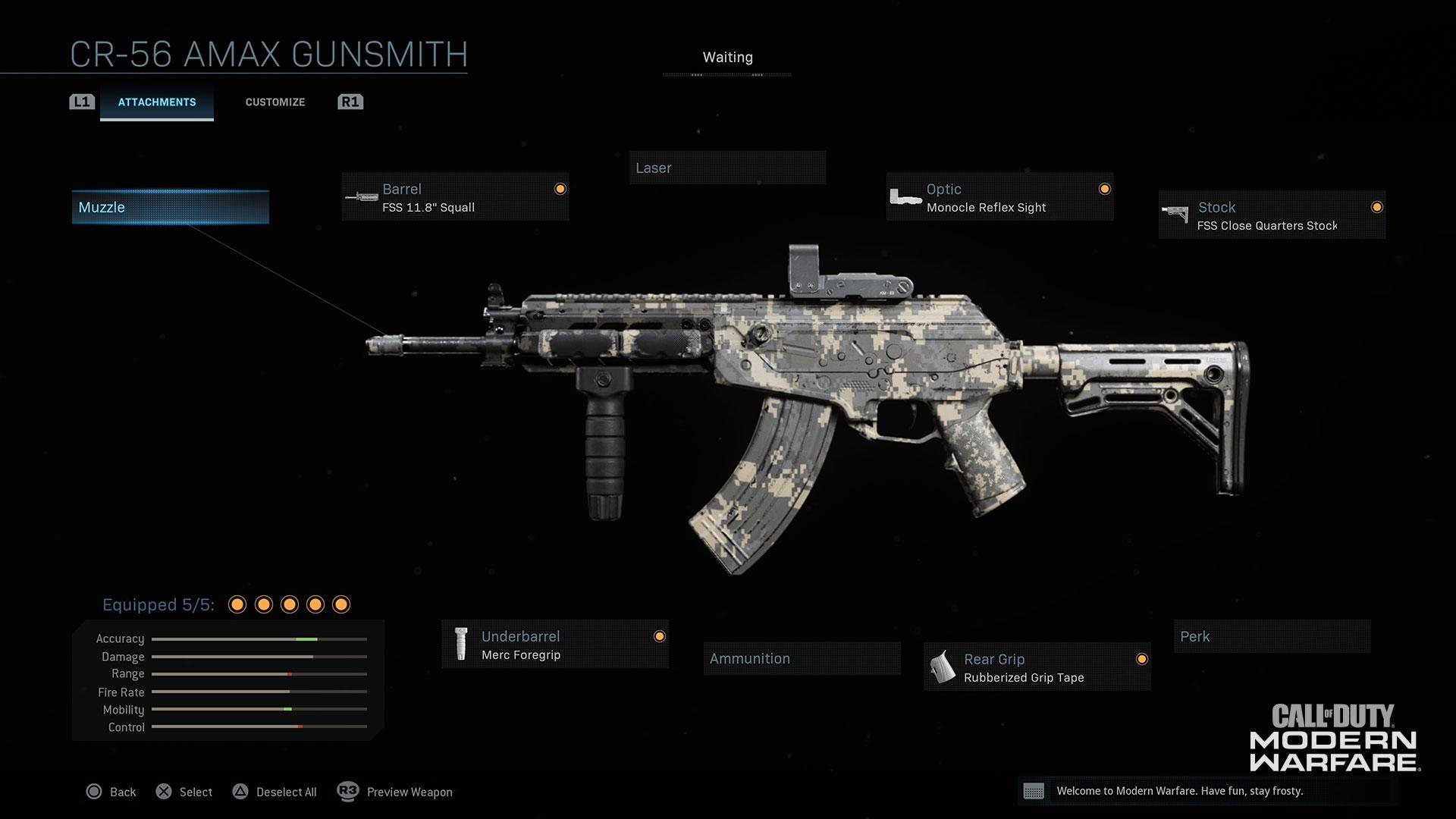 Modern Warfare® Weapon Detail: CR-56 AMAX - Image 2