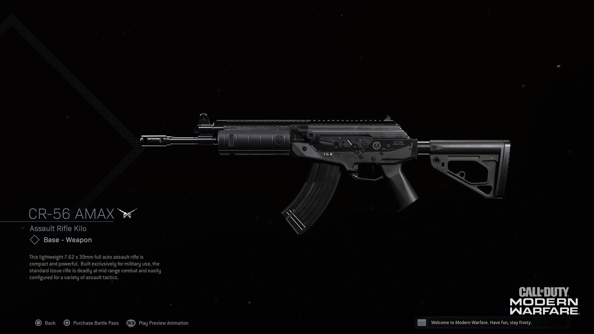 Modern Warfare® Weapon Detail: CR-56 AMAX - Image 6