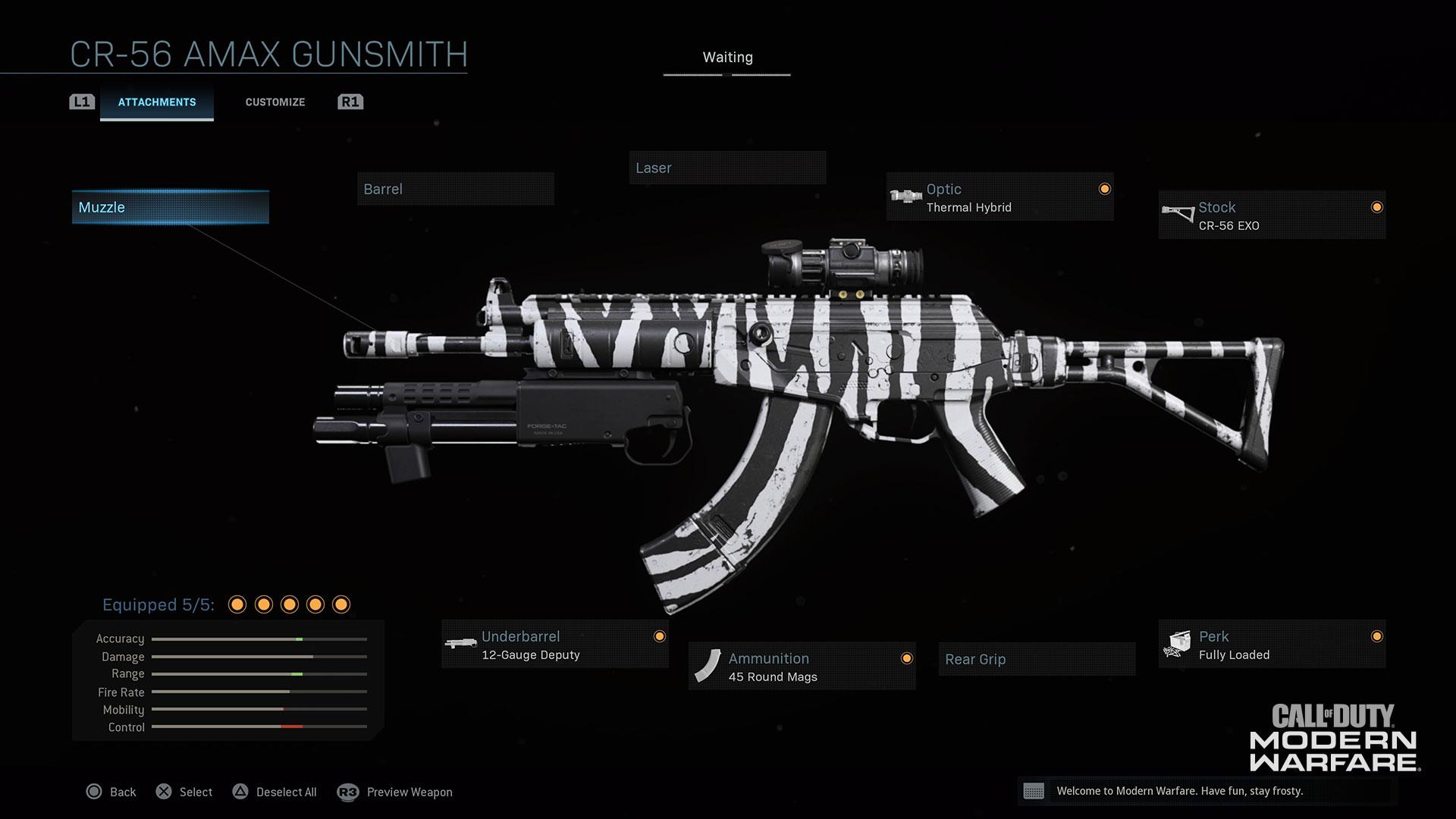 Modern Warfare® Weapon Detail: CR-56 AMAX - Image 3