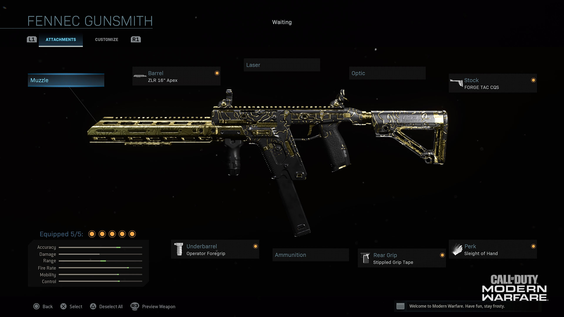 Modern Warfare® Weapon Detail: Fennec - Image 2