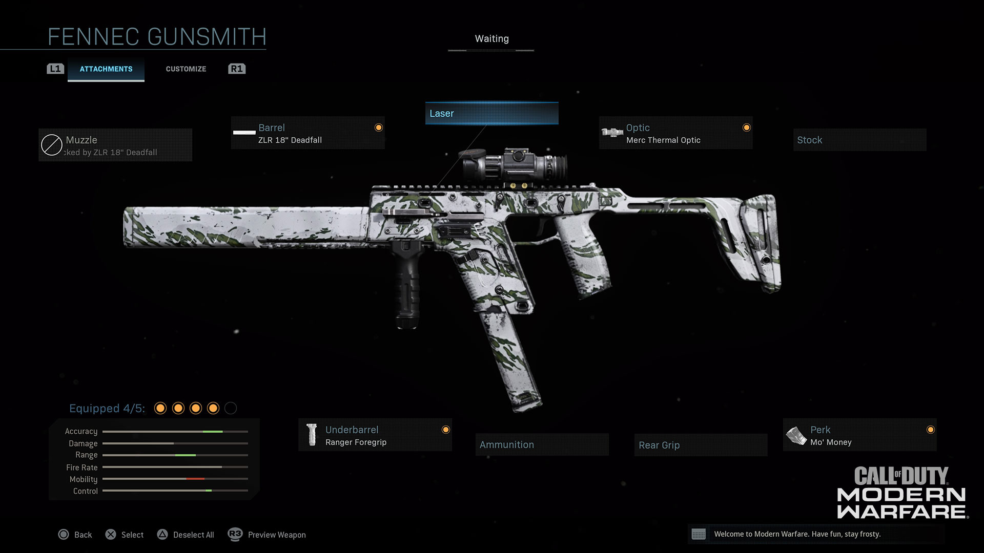 Modern Warfare® Weapon Detail: Fennec - Image 1