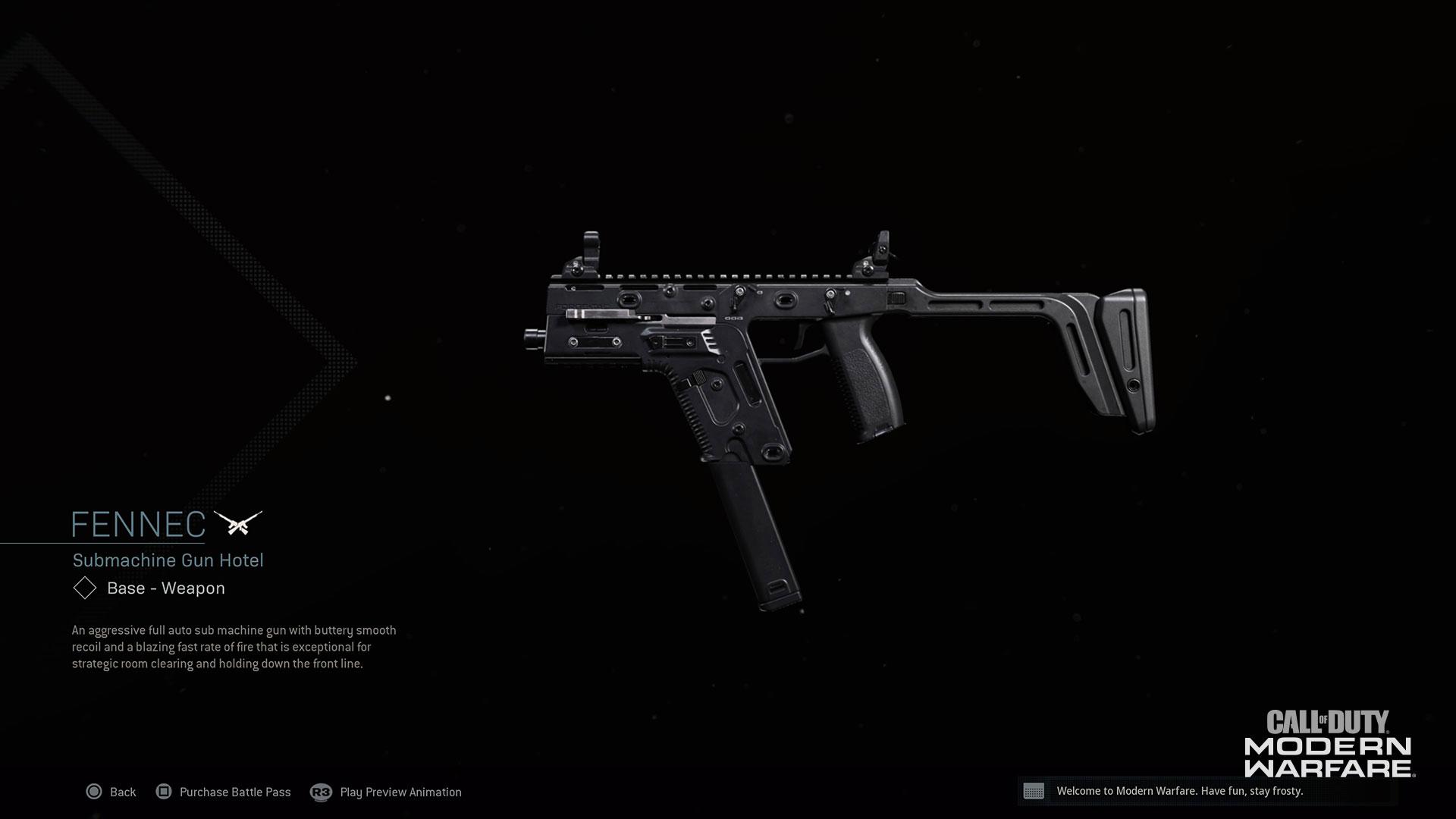 Modern Warfare® Weapon Detail: Fennec - Image 6