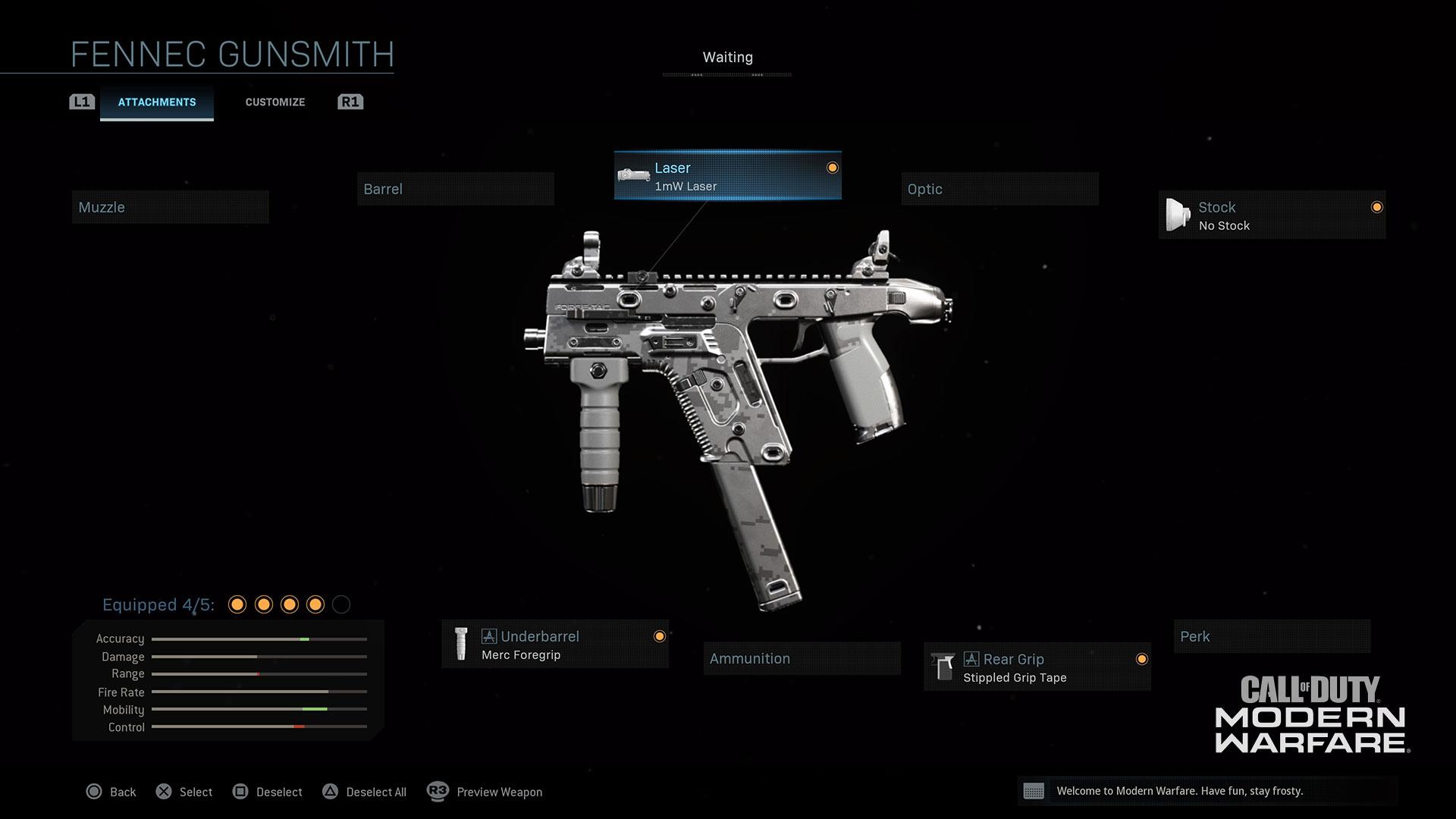 Modern Warfare® Weapon Detail: Fennec - Image 4