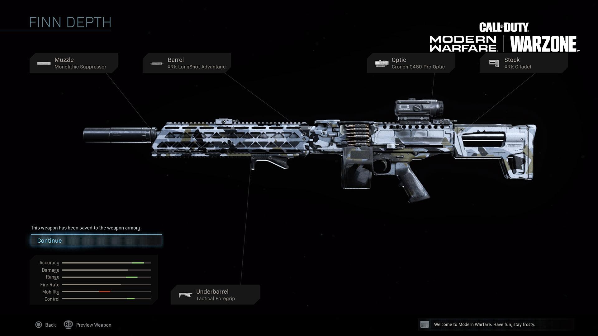 Modern Warfare Weapon Detail Finn Lmg The official subreddit for the game gunsmith! modern warfare weapon detail finn lmg