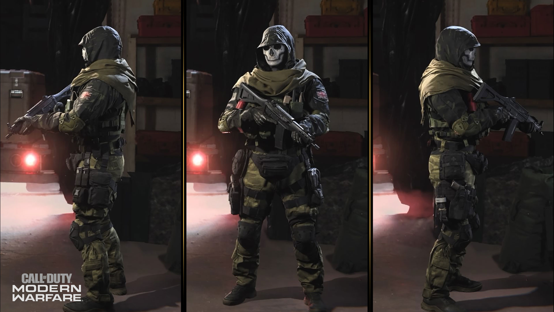 Ghost Joins The Coalition Operators Of Call Of Duty Modern Warfare