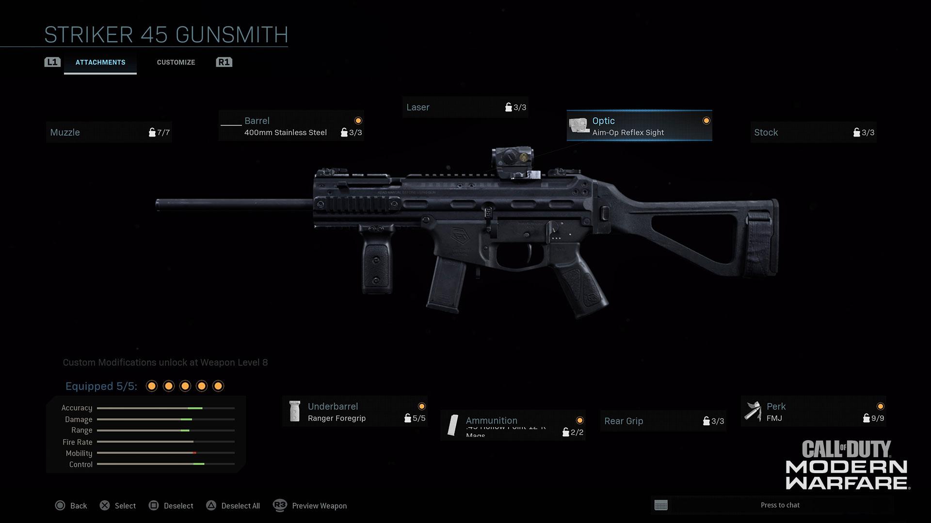 Modern Warfare® Weapon Detail: Striker 45 - Image 4