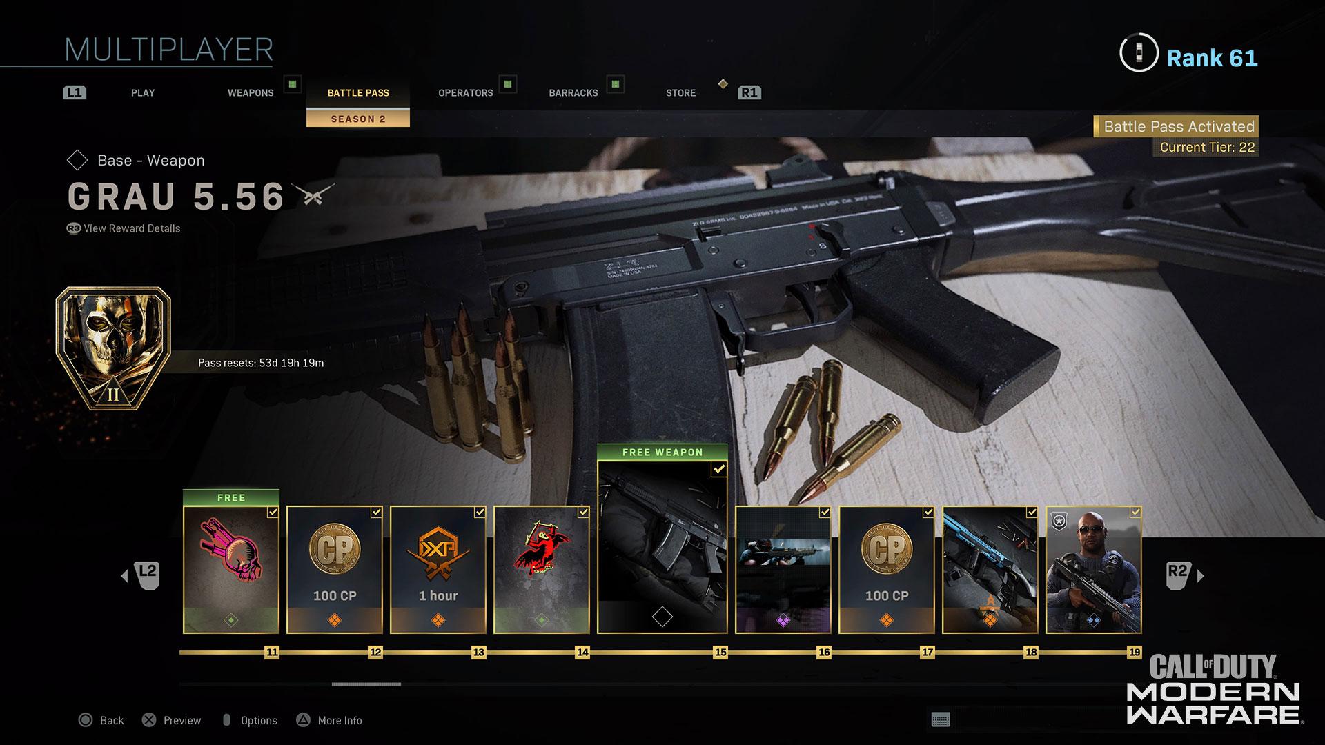 Modern Warfare® Weapon Detail: Grau 5.56 - Image 7