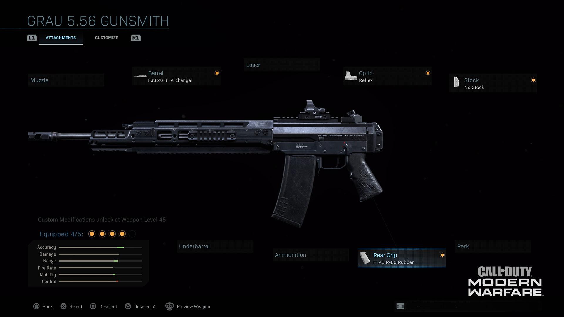 Modern Warfare® Weapon Detail: Grau 5.56 - Image 1
