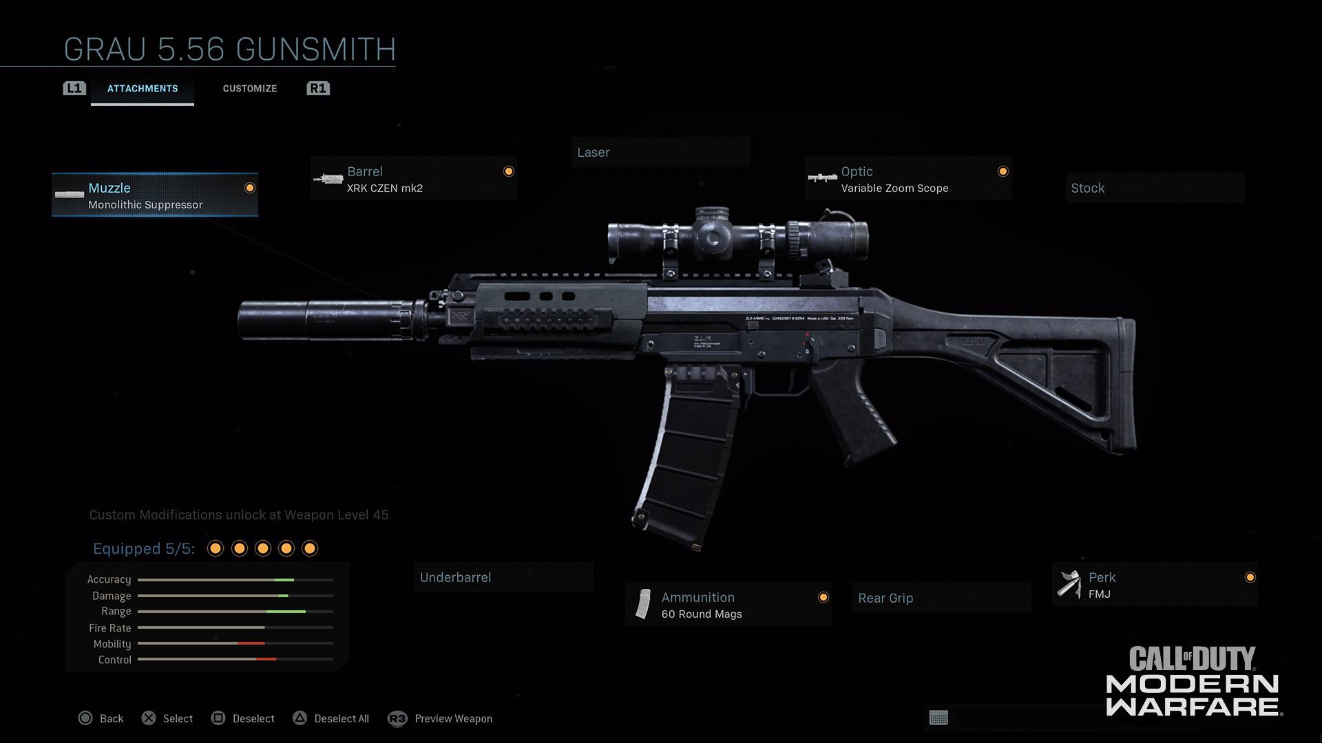 Modern Warfare® Weapon Detail: Grau 5.56 - Image 3