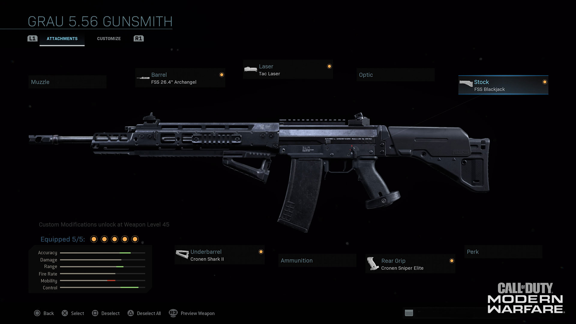 Modern Warfare® Weapon Detail: Grau 5.56 - Image 4