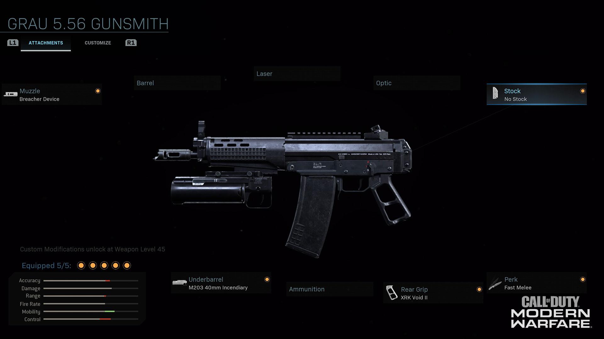 Modern Warfare® Weapon Detail: Grau 5.56 - Image 2