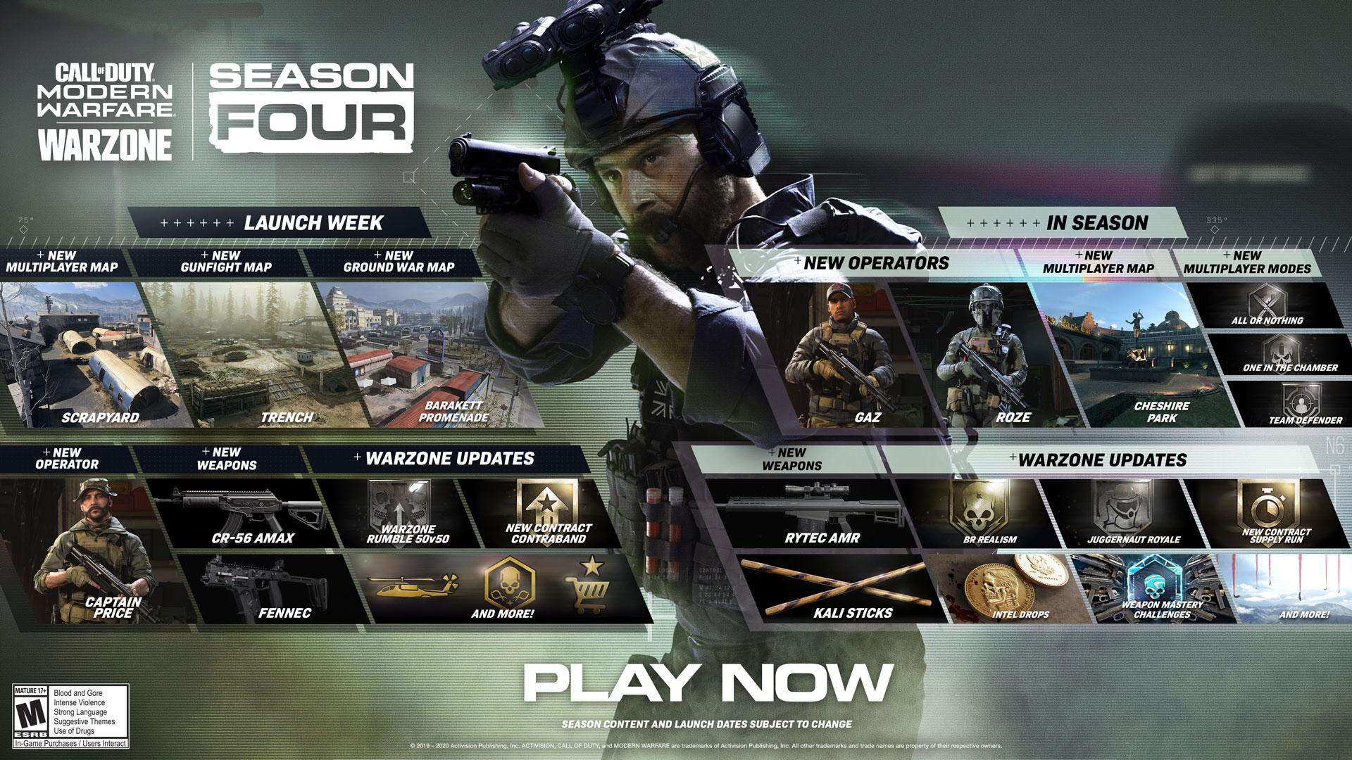 Captain Price leads the charge in a packed new Season of Call of Duty®: Modern Warfare® including Warzone - Image 1