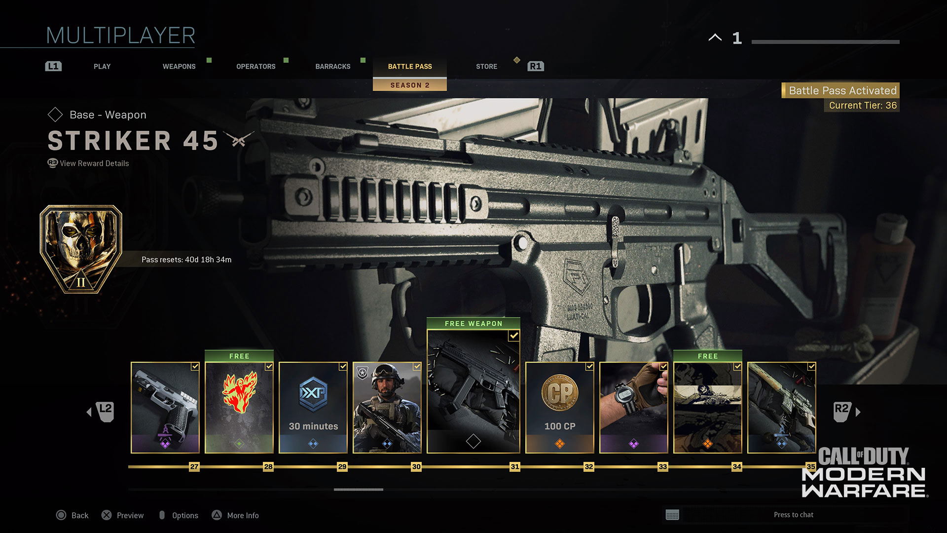 Modern Warfare® Weapon Detail: Striker 45 - Image 8