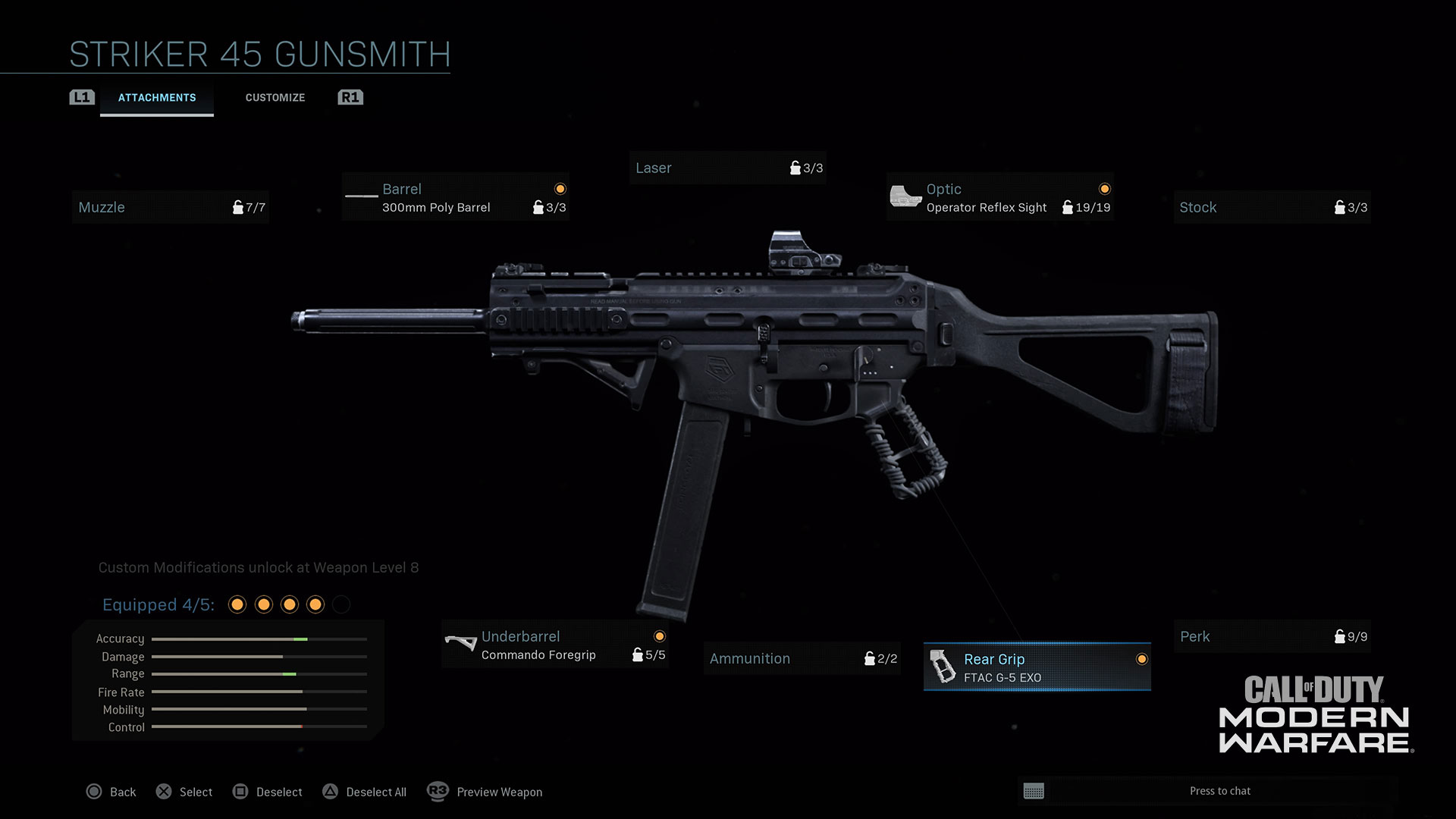 Modern Warfare® Weapon Detail: Striker 45 - Image 5