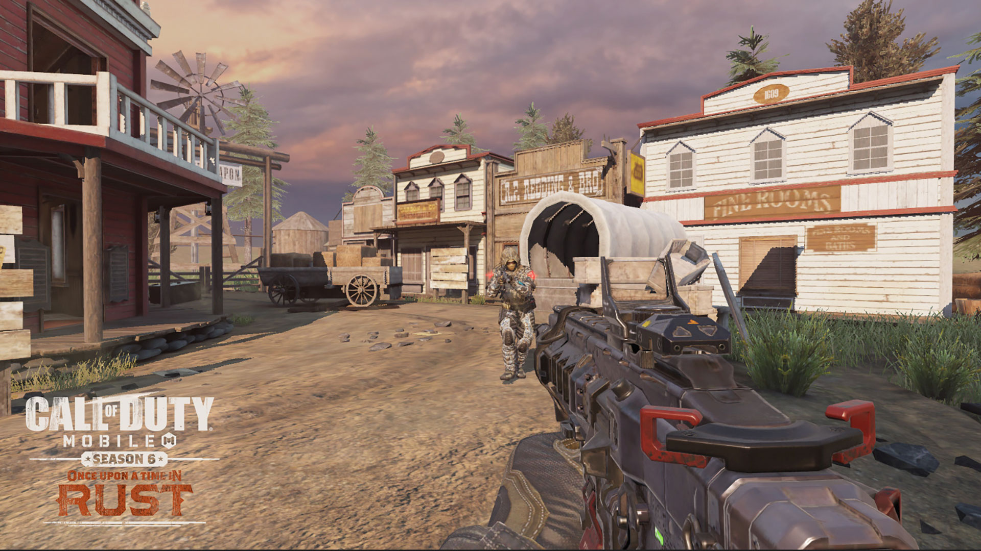 Ready up Gunslingers for a New Mode in Call of Duty®: Mobile: 1v1 Duel on a New Map, Saloon! - Image 1