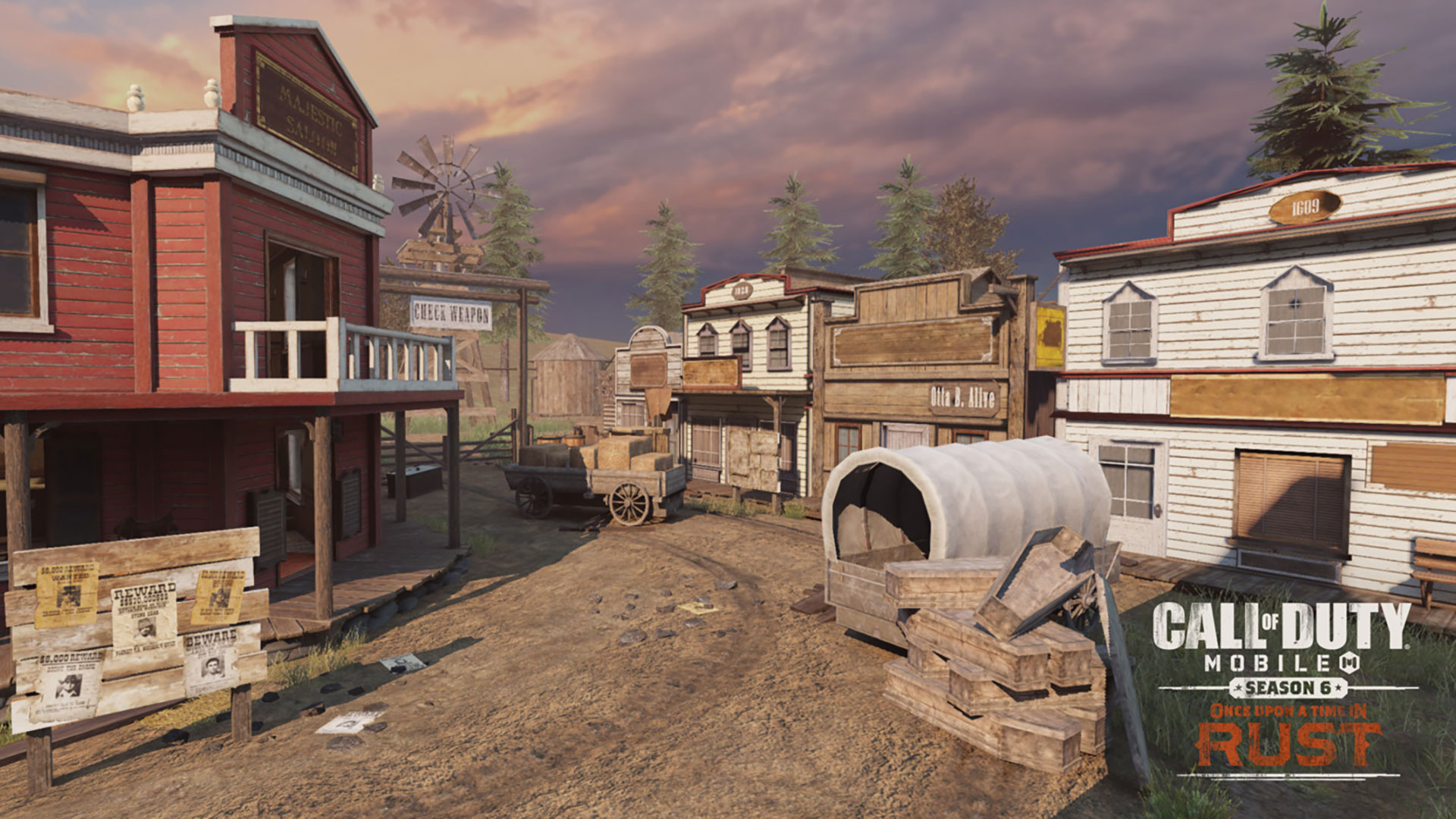Once Upon a Time in Rust, the New Season of Call of Duty: Mobile, Is Now  Live!