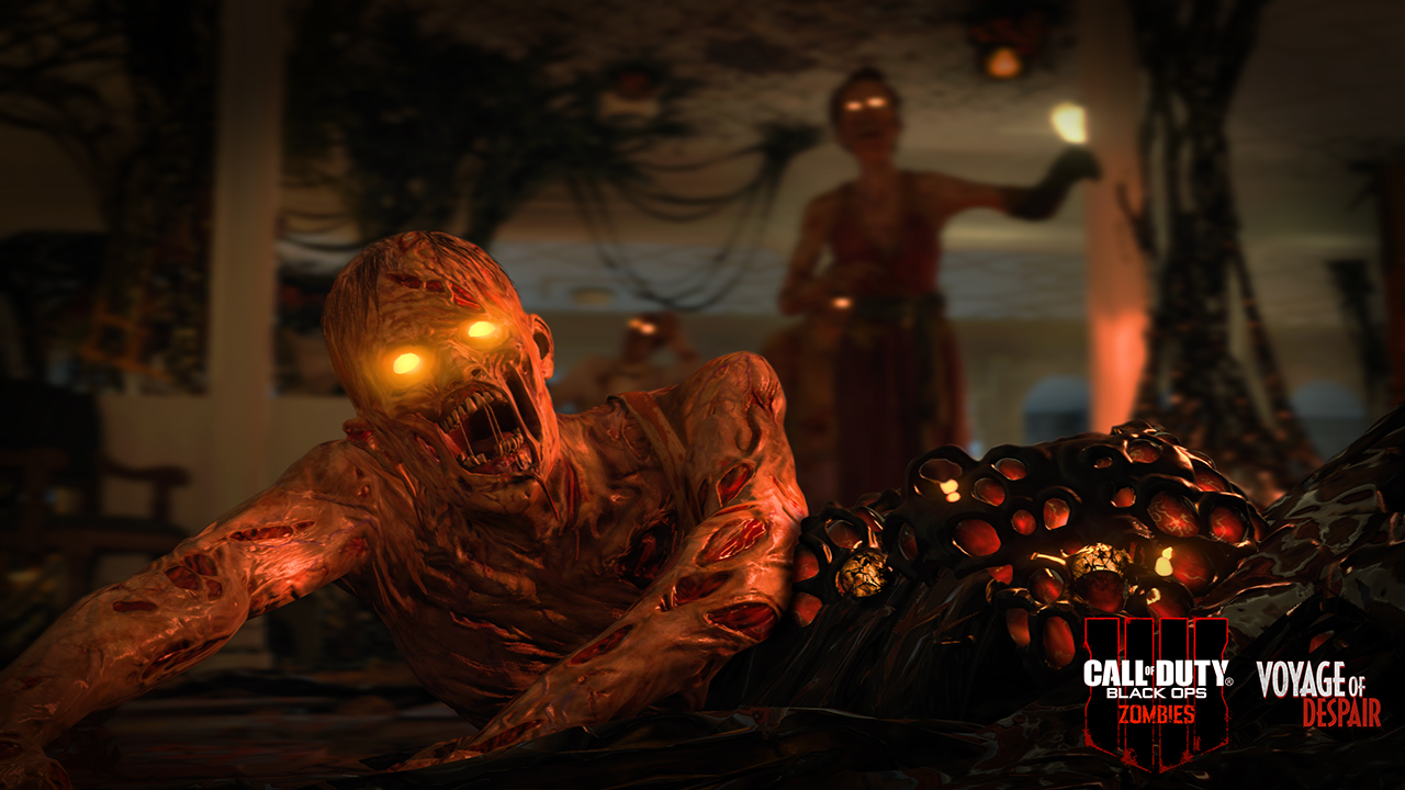 Zombies Spotlight Run The Gauntlet In Call Of Duty Black Ops 4 Zombies
