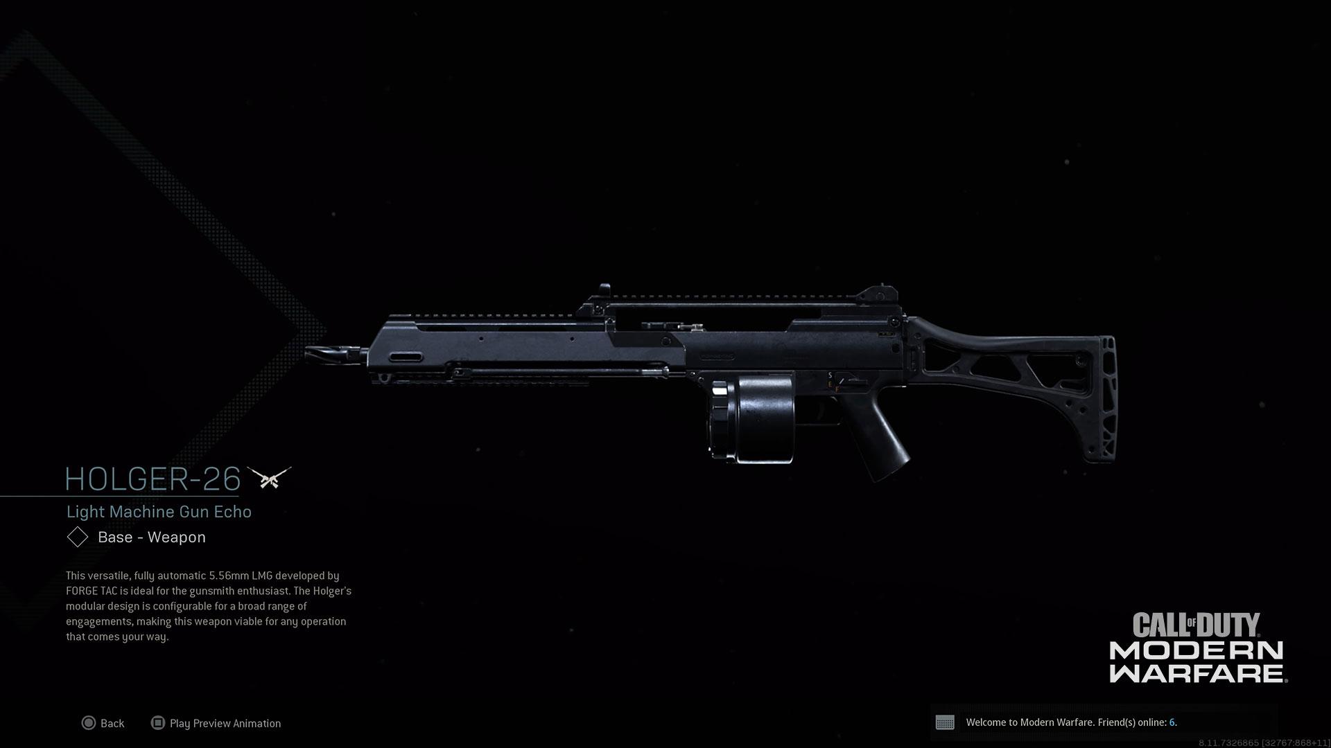 Modern Warfare Weapon Holger-26