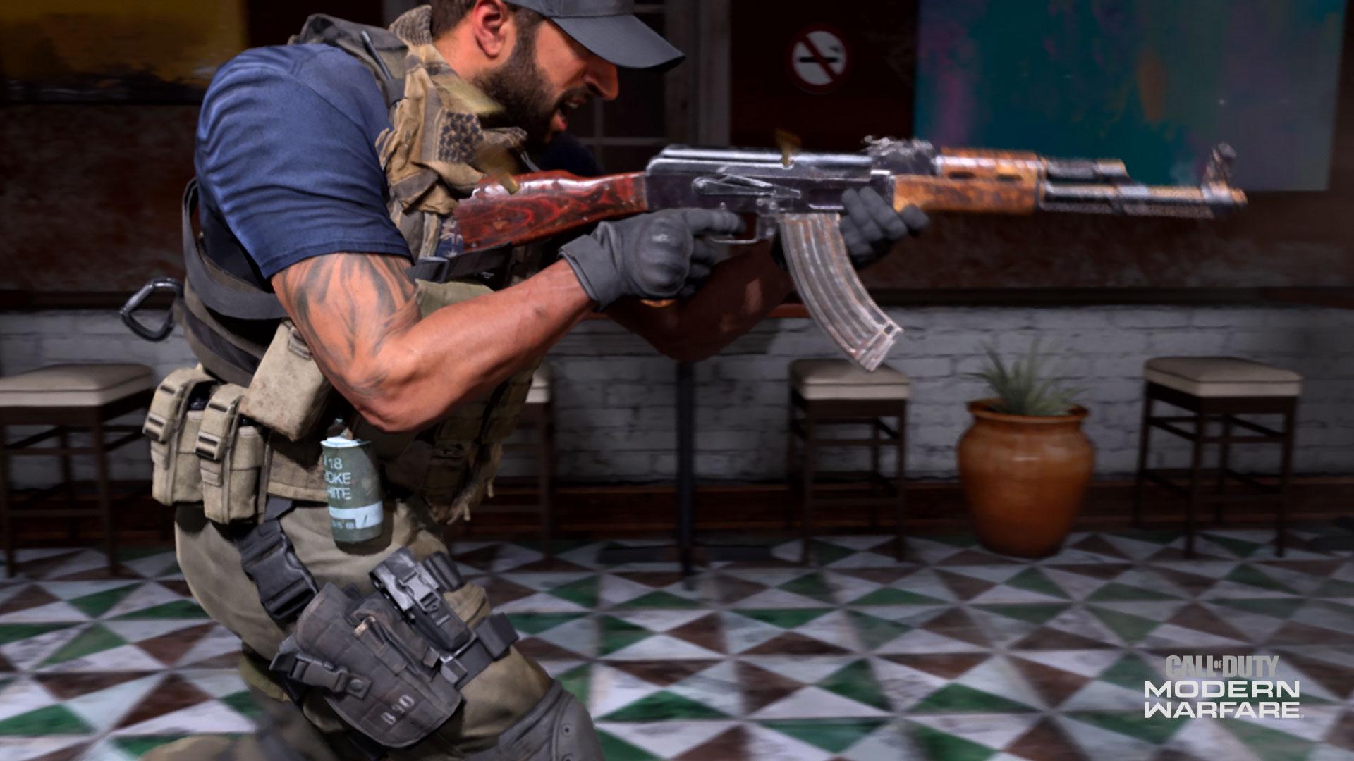 Mode Recon Gun Game