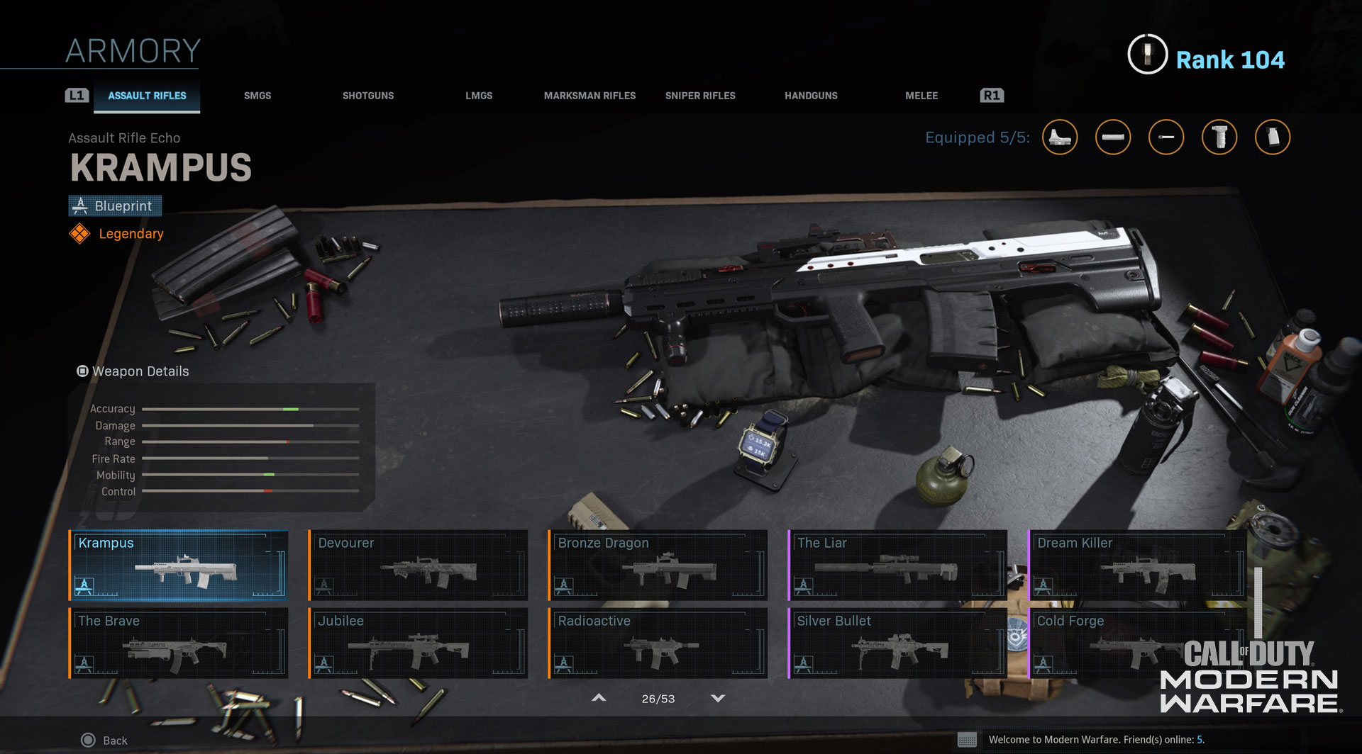Create The Ultimate Weapon In Gunsmith Customs Now Live In Modern Warfare