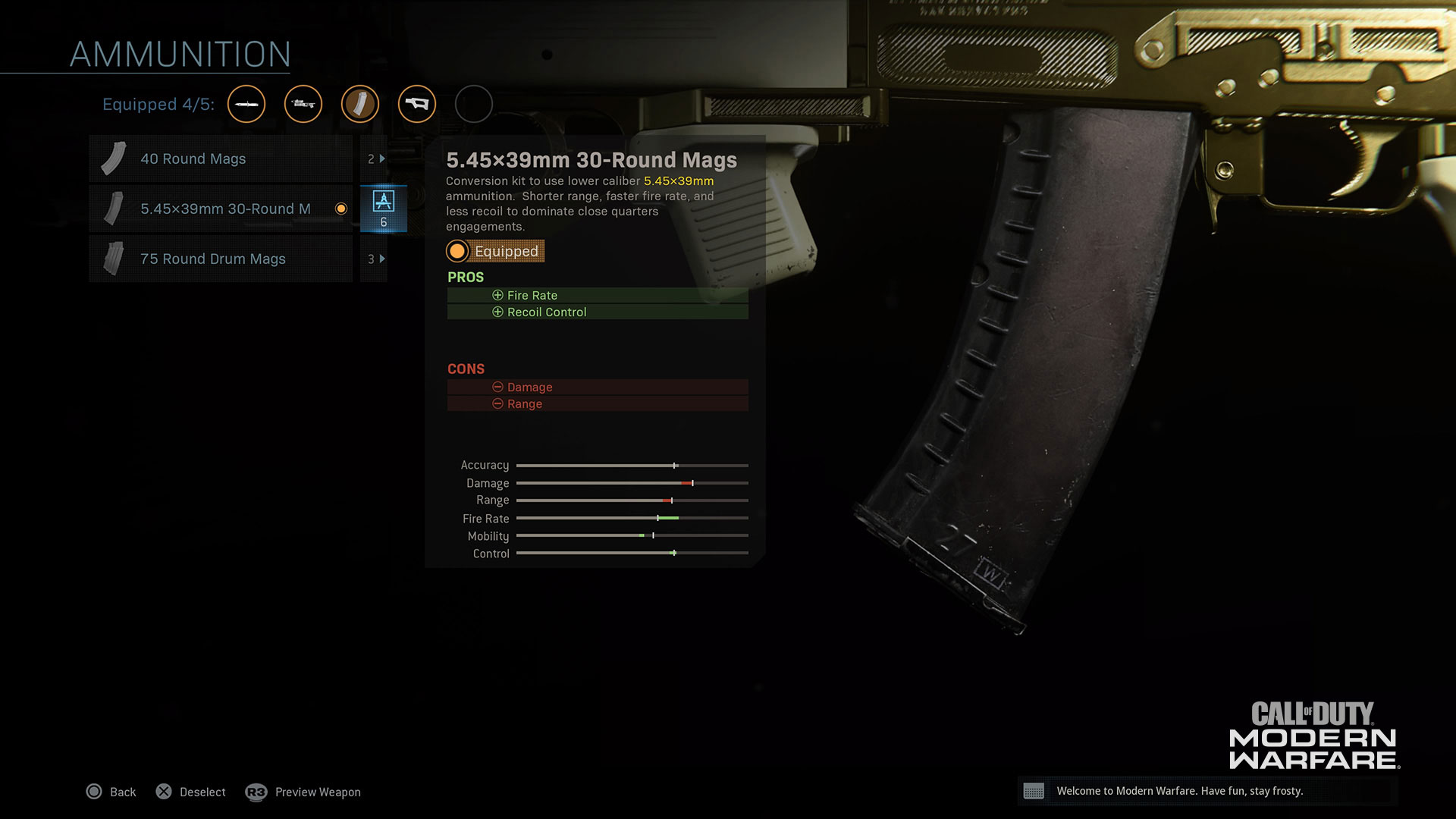 Create the Ultimate Weapon in Gunsmith Customs, Now Live in Modern Warfare® - Image 2