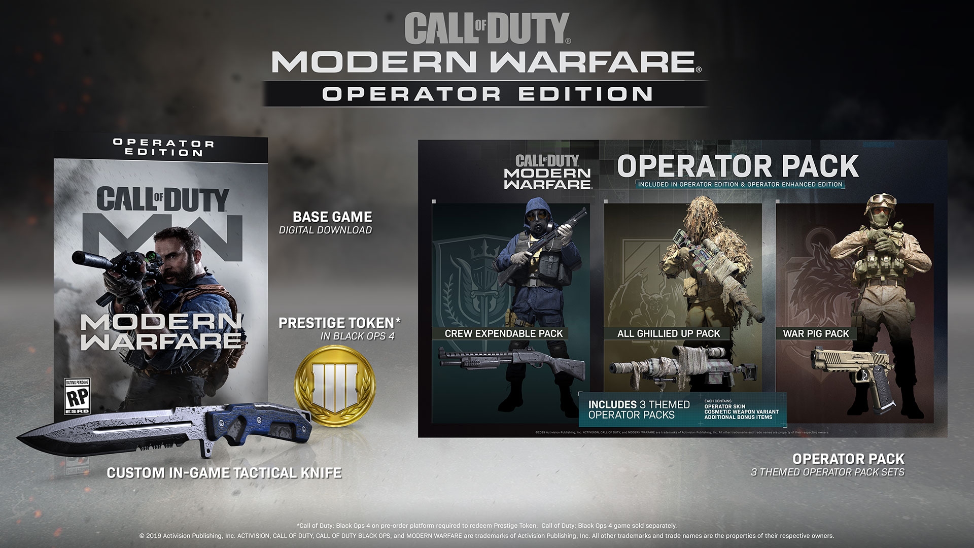 Announcement: Call of Duty®: Modern Warfare® Editions Now Available for  Pre-Order!