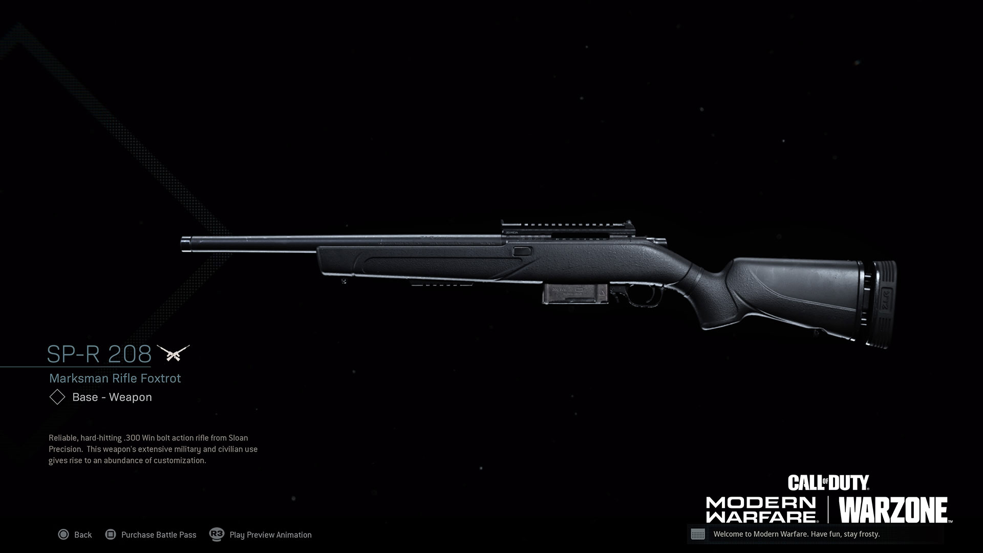 Modern Warfare Weapon Detail Sp R 208