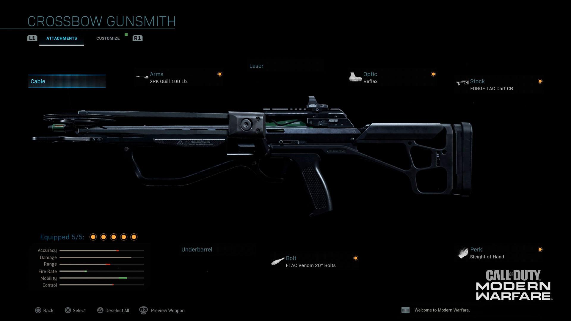 Modern Warfare® Weapon Detail: Crossbow - Image 2