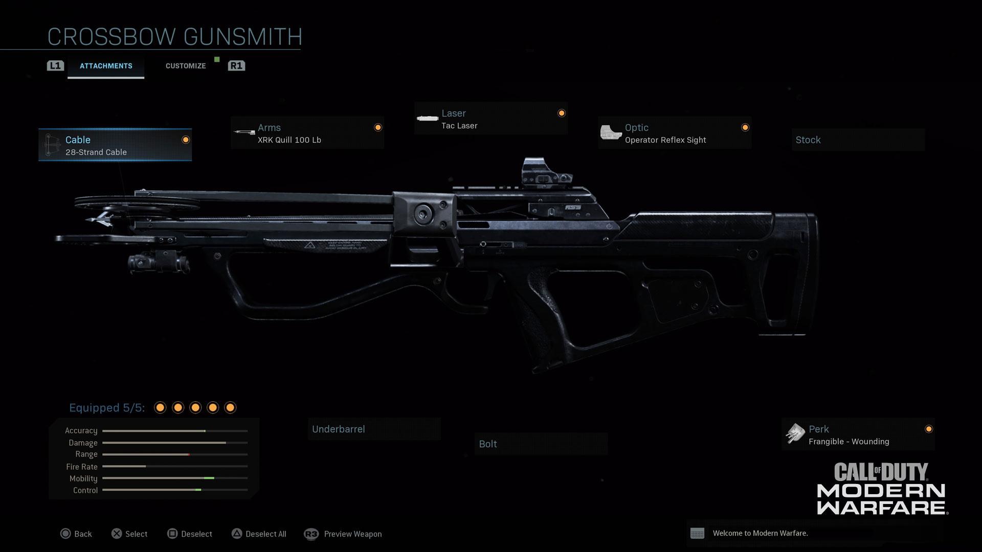 Modern Warfare® Weapon Detail: Crossbow - Image 4
