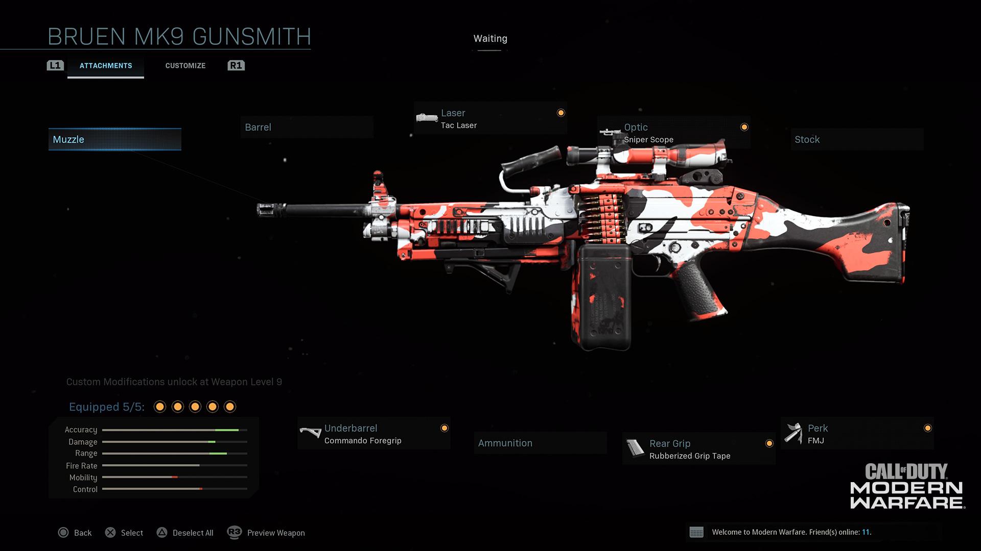 Modern Warfare® Weapon Detail: Bruen Mk9 - Image 3
