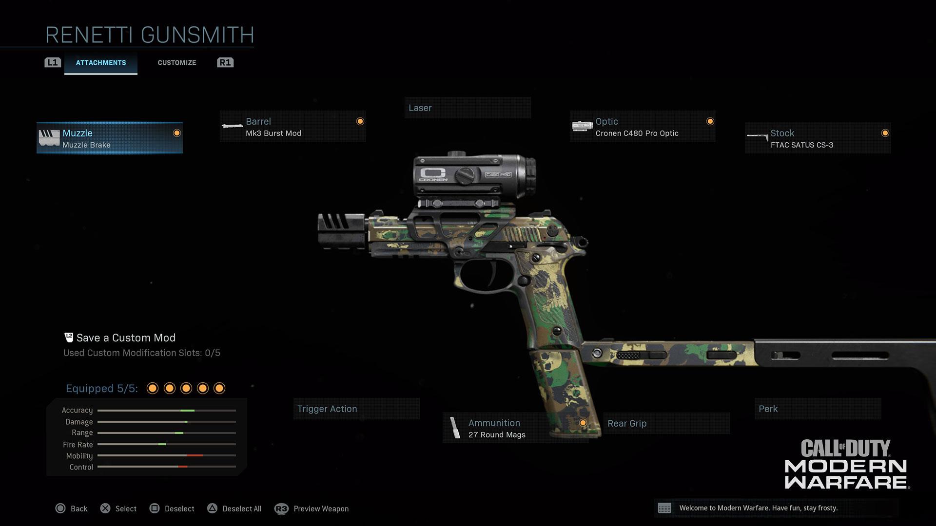 Modern Warfare® Weapon Detail: Renetti - Image 4