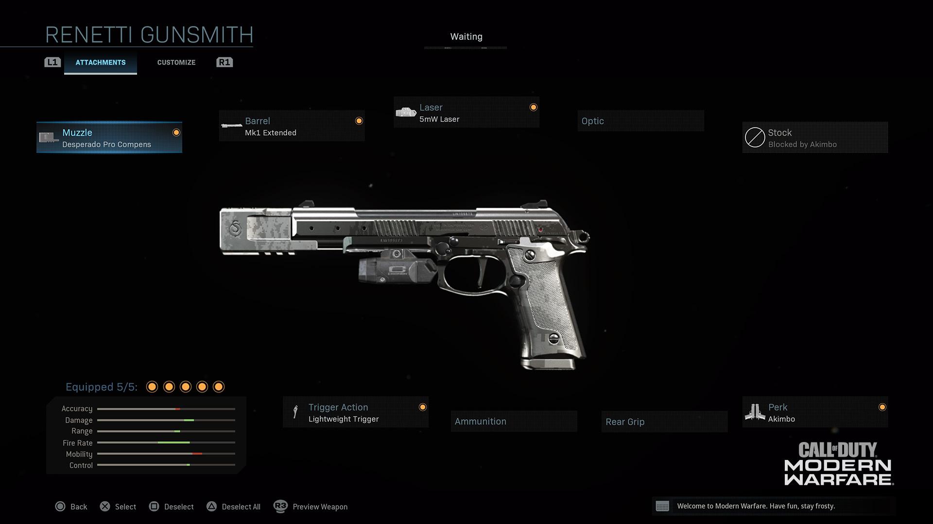 Modern Warfare® Weapon Detail: Renetti - Image 5