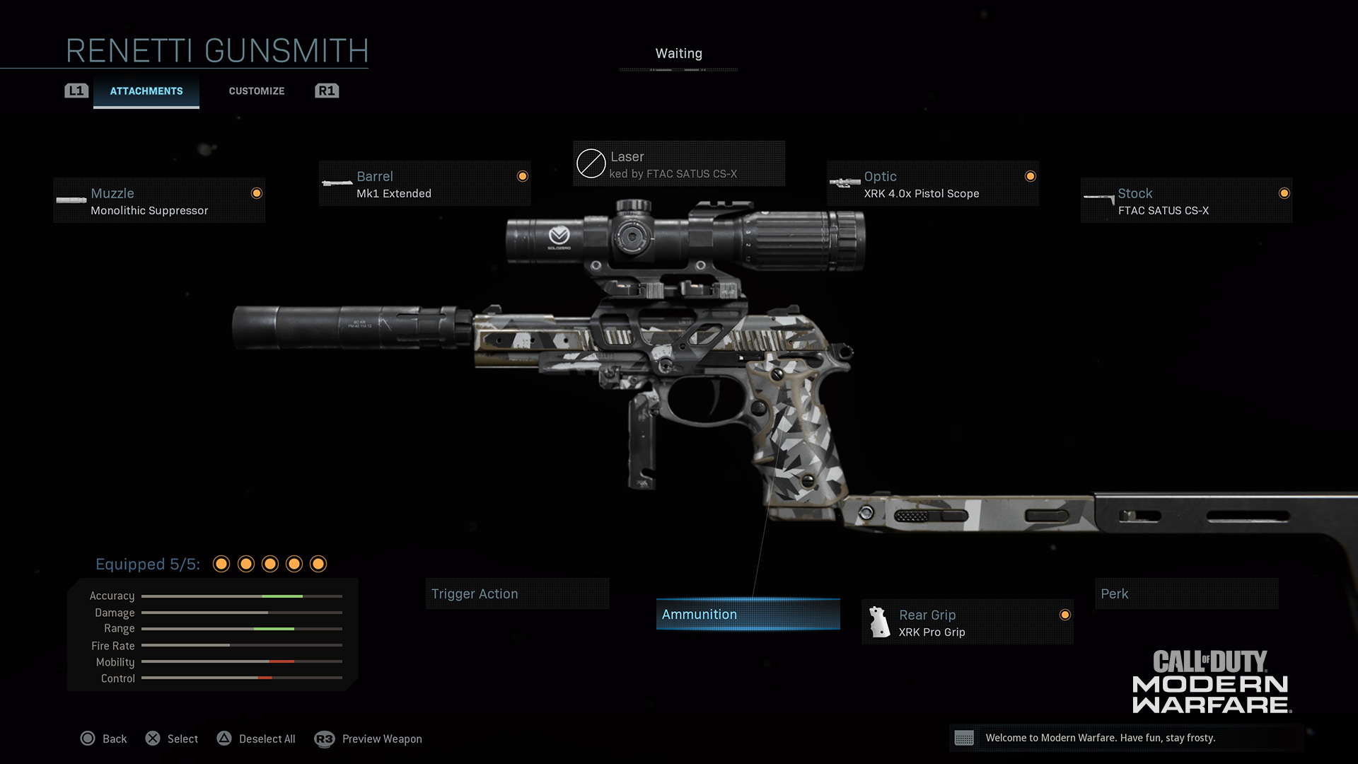 Modern Warfare® Weapon Detail: Renetti - Image 2