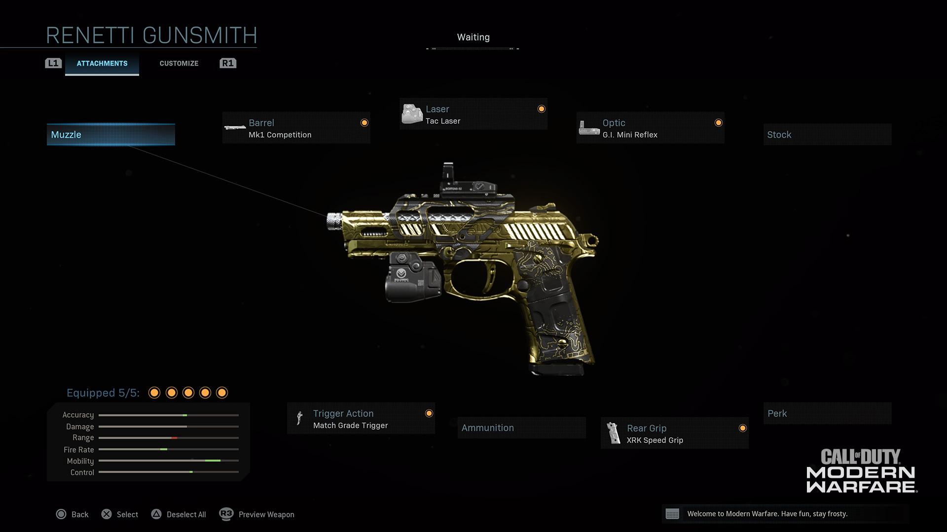Modern Warfare® Weapon Detail: Renetti - Image 3