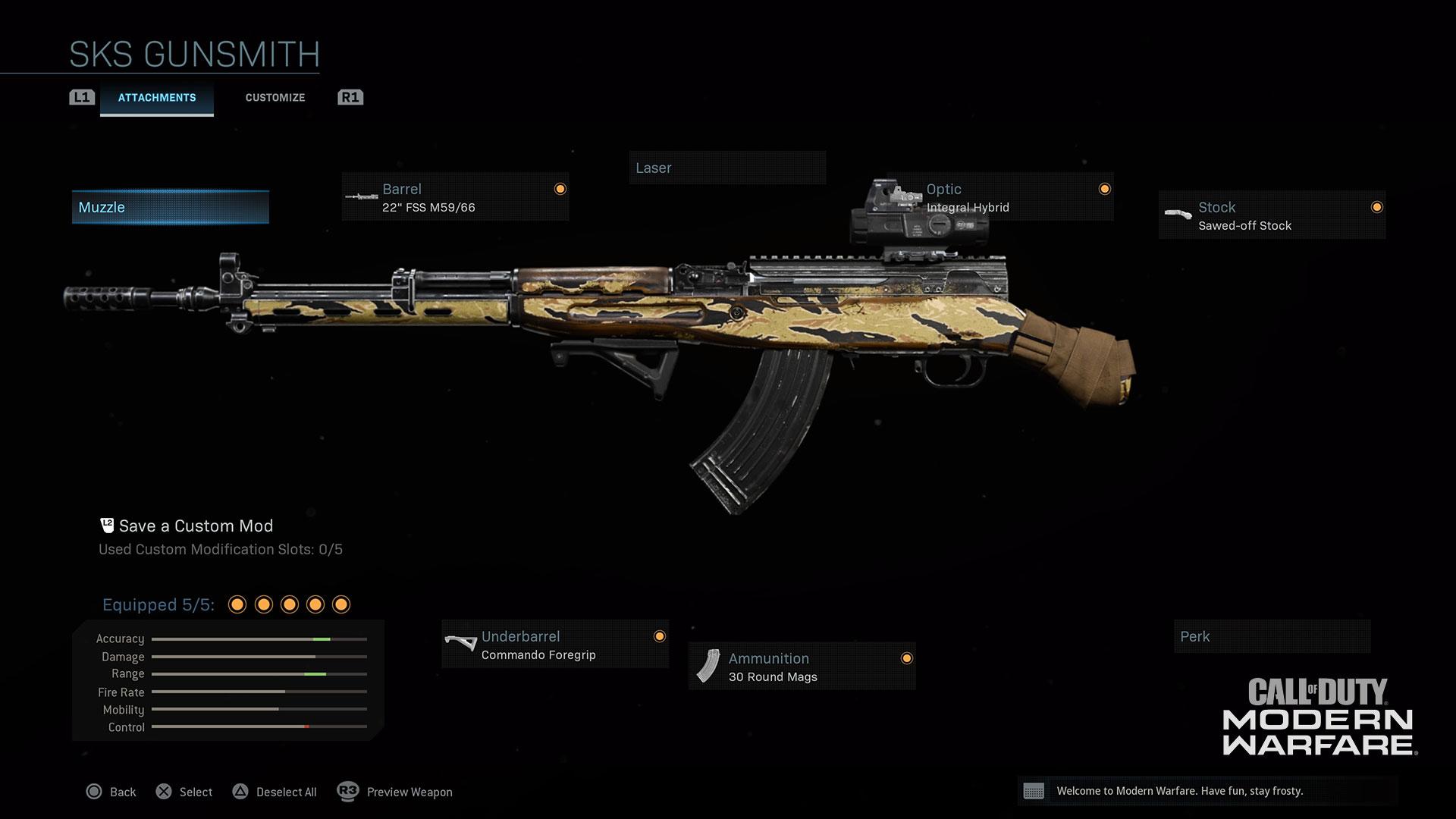 Modern Warfare® Weapon Detail: SKS - Image 3