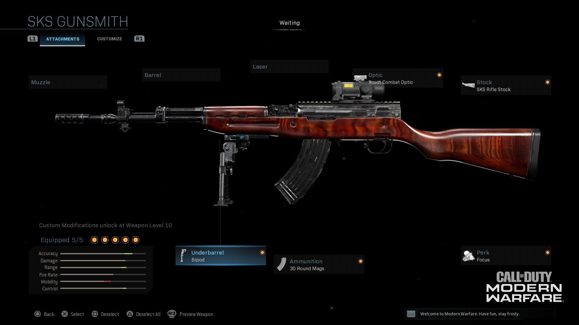 Modern Warfare® Weapon Detail: SKS - Image 4