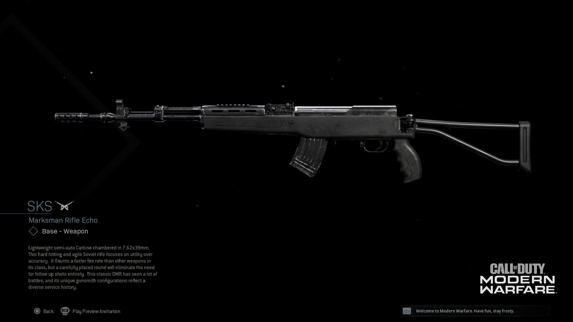 Modern Warfare® Weapon Detail: SKS - Image 6