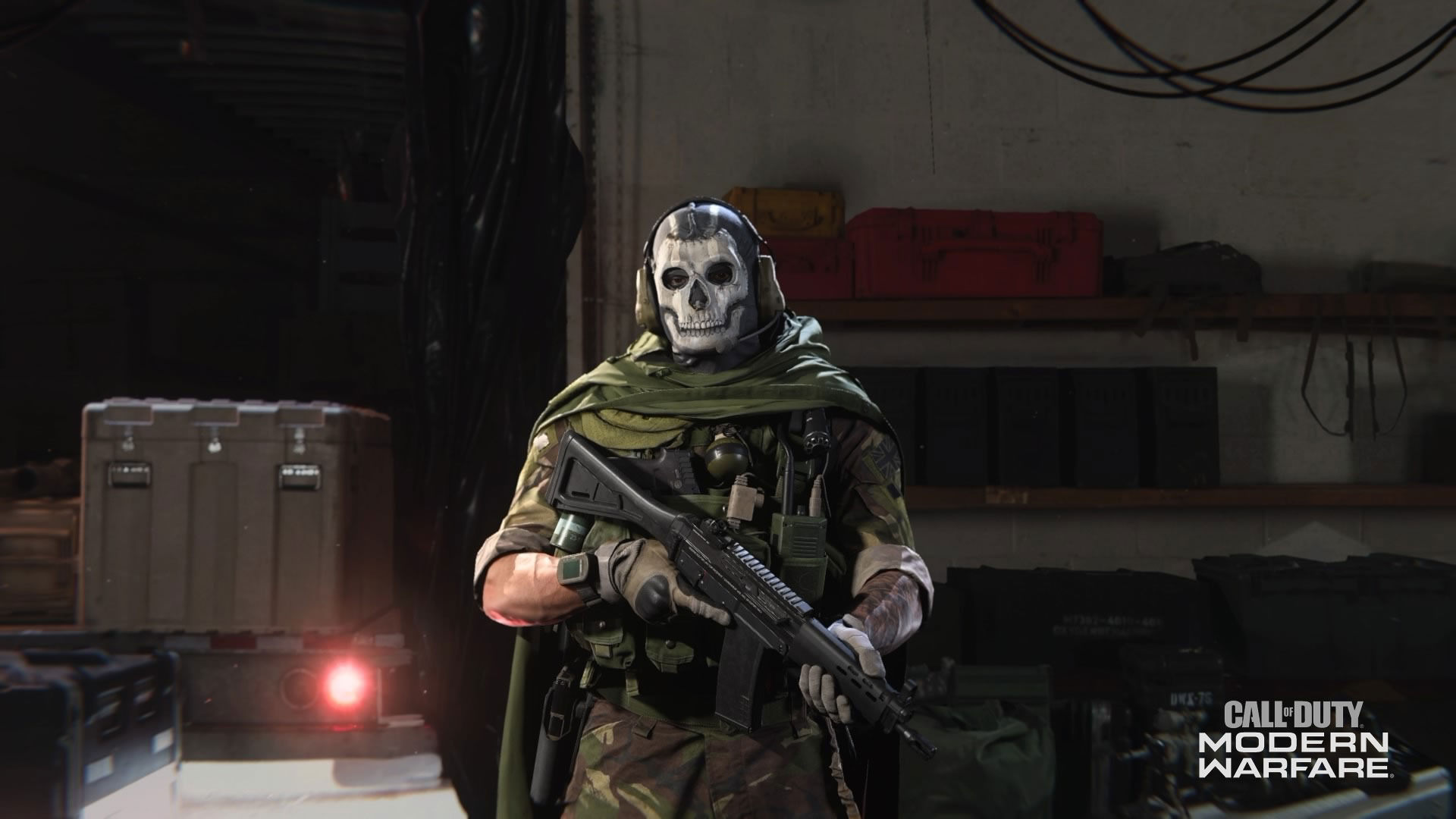call of duty modern warfare ghost operator