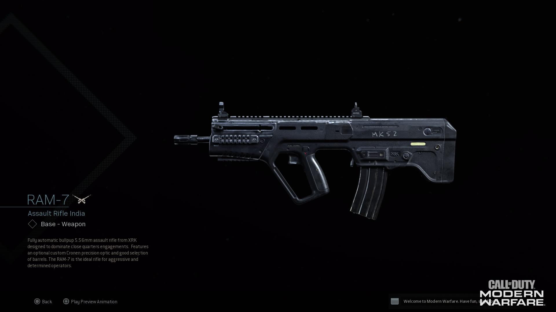 RAM-7 Modern Warfare