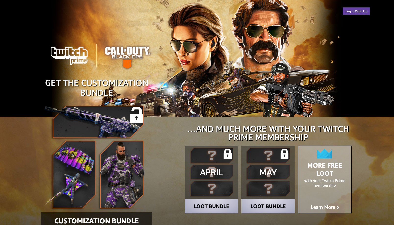 call of duty twitch prime