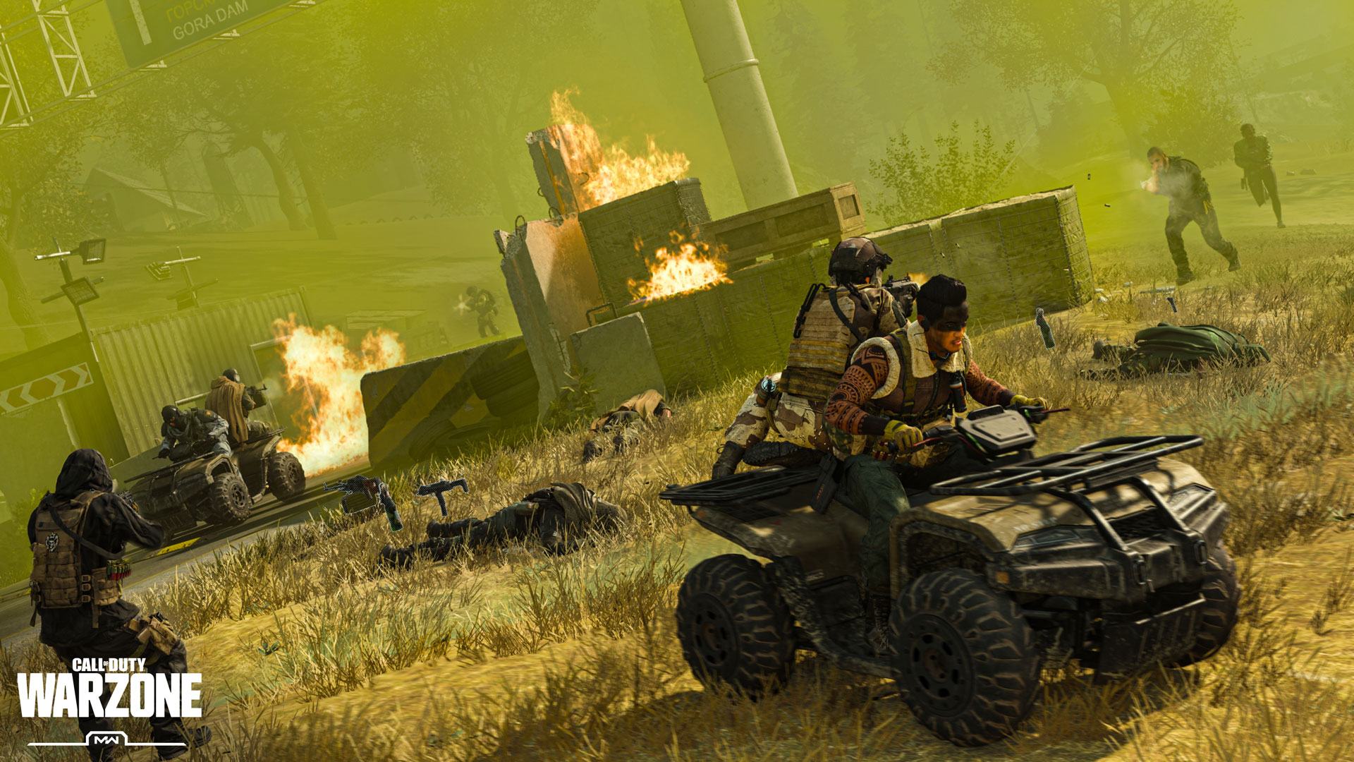 Battle the Circle Collapse in Warzone Battle Royale - Image 1