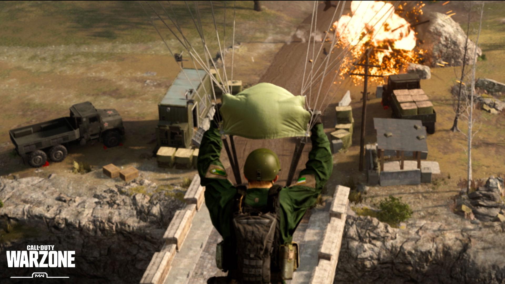 Warzone Parachute Techniques - Image 1