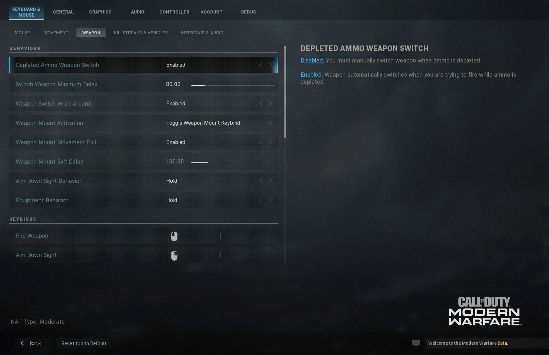 Modern Warfare® Beta*: PC Minimum Specs and Settings